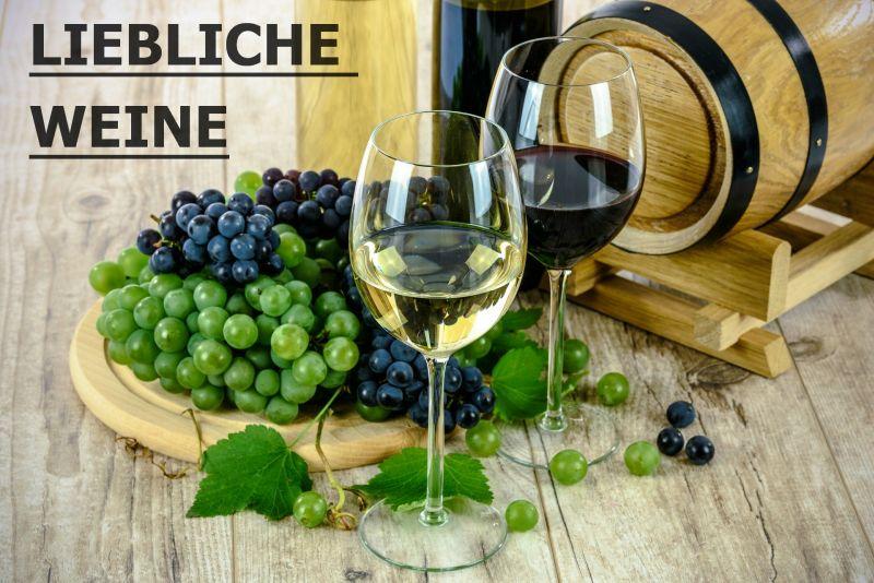Liebliche Weine