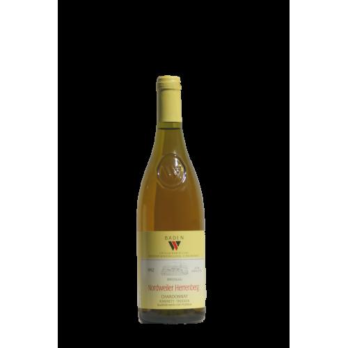 """Nordweiler 1992 Herrenberg Chardonnay Q B A : Prädikat """"Kabinett"""""""