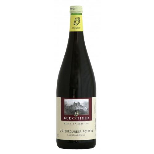 WG Burkheim 2017 Burkheimer Spätburgunder Rotwein Qualitätswein trocken