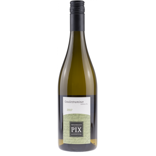 Weingut Pix – Gewürztraminer Selektion Pix 2018 trocken
