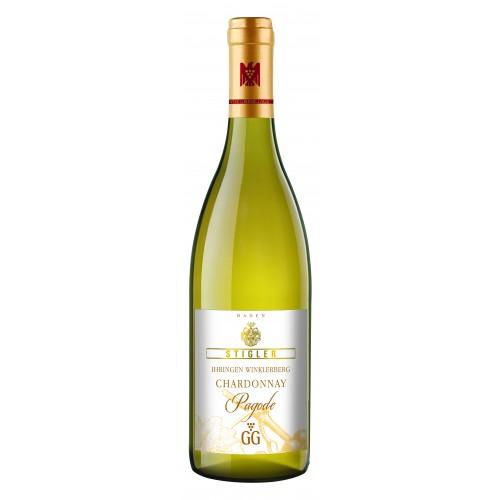 Stigler 2015 Ihringen Winklerberg Chardonnay GG Pagode VDP. Grosse Lage